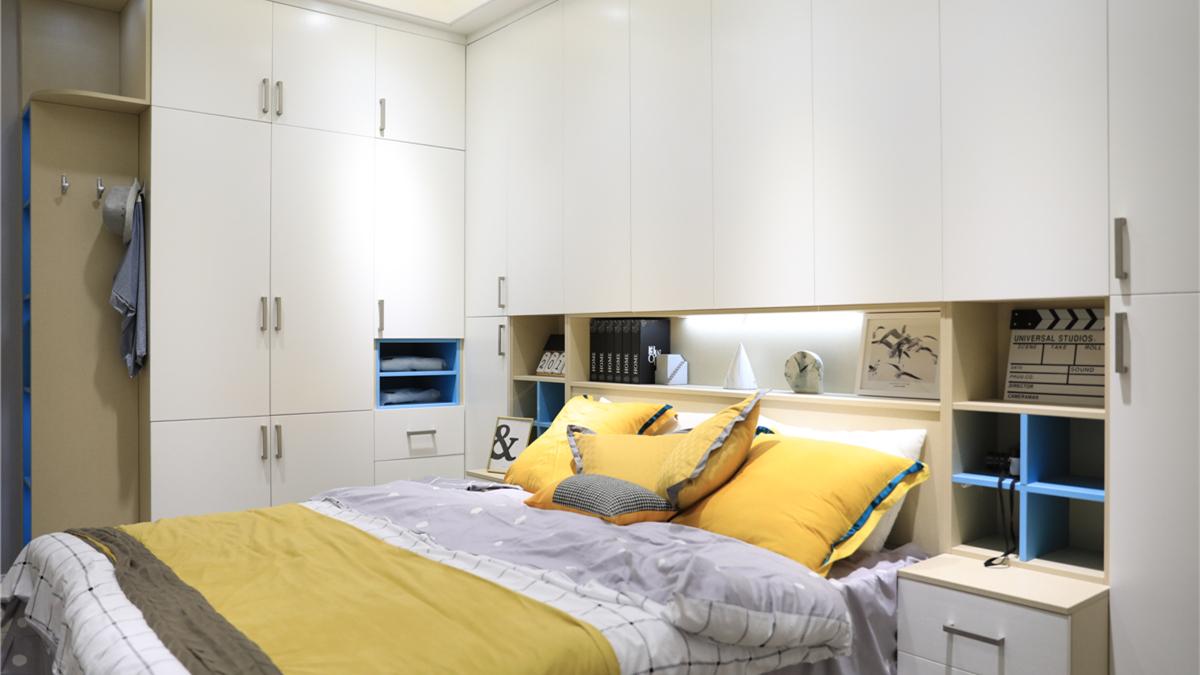 现代风格-卧室空间 MODERN STYLE 悦享 板式.JPG
